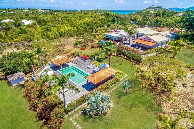 Hacienda at Terres Basses, Saint Maarten - Ocean View, Pool, Family Friendly - Image 1 - Terres Basses - rentals