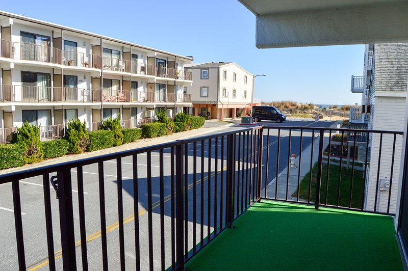 Balcony view - Sunchaser Condominium 101 - Ocean City - rentals