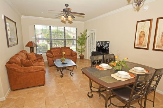 Bella Piazza Resort 3 Bedroom 3 Bath Condo. 906CP-411 - Image 1 - Davenport - rentals