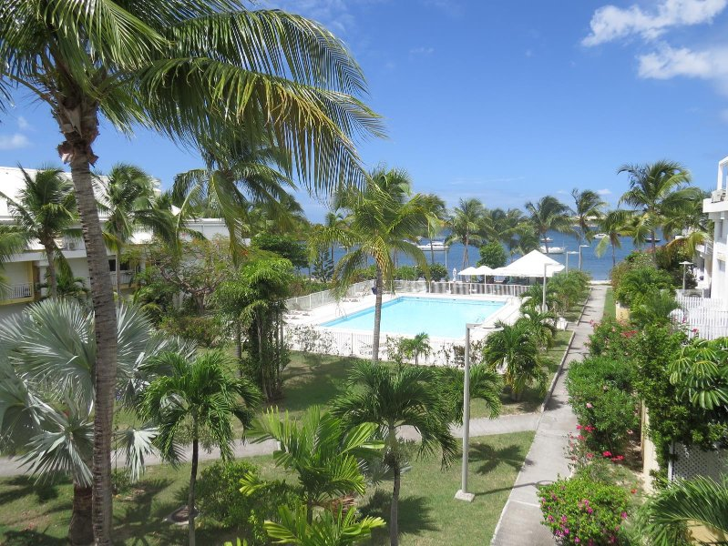 Charming Apartment with View on the Pool and Simpson Bay Lagoon - Image 1 - Sandy Ground - rentals
