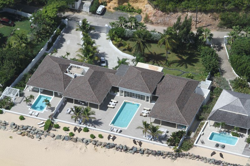 Beachfront 3 bedroom villa with private chef - Image 1 - Terres Basses - rentals