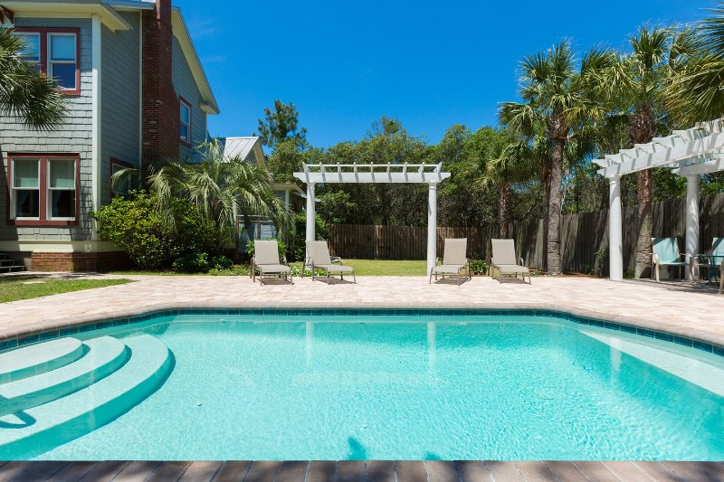 The Pool - Anna's Veranda Victorian Gem in Florida Panhandle - Panama City Beach - rentals