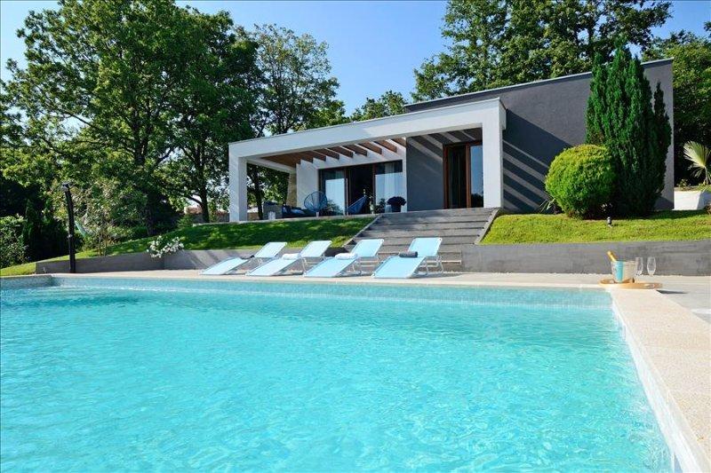 beautiful brand new modern villa in Central Istria - Image 1 - Pazin - rentals
