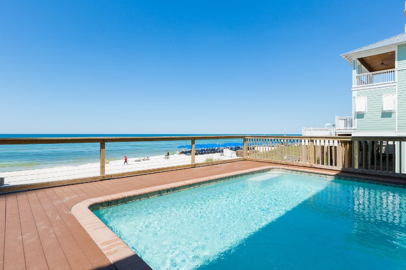 The Pool - The Fish Carlton - Pool Hot Tub Ocean Beach 6 bdrm - Panama City Beach - rentals