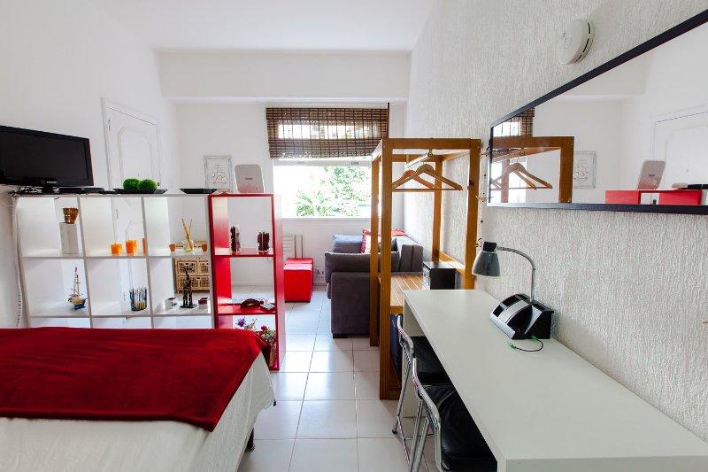 Living Room - Studio between Ipanema and Copacabana - Rio de Janeiro - rentals