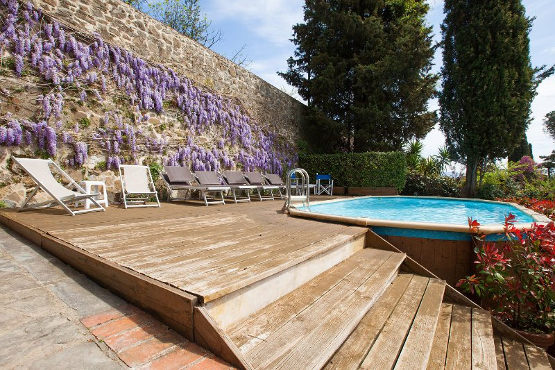 The Pool - Villa in Florence, views, pool, no car needed - Florence - rentals
