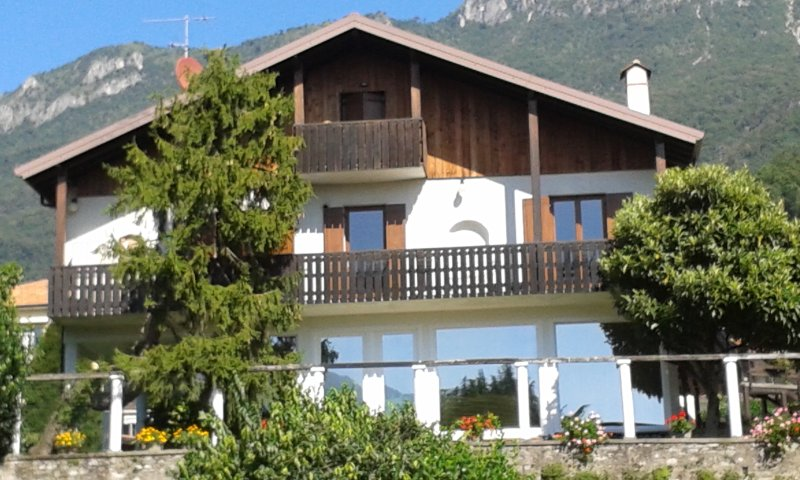 Front of property - LE COLOMBINE Bed and Breakfast LAKE OF COMO LECCO - Abbadia Lariana - rentals