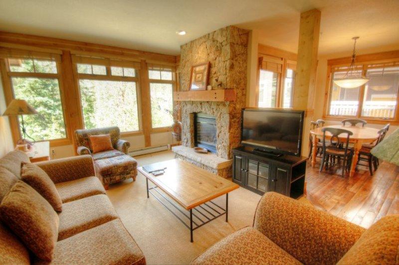 Living Room - - 6551 Settlers Creek Townhomes - East Keystone - Keystone - rentals