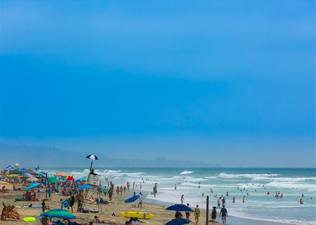 Beautiful Del Mar Beach about 1 1/2 blocks from this perfect beach vacation getaway! - Classic Del Mar - Walk to Beach - Close to Village - Del Mar - rentals