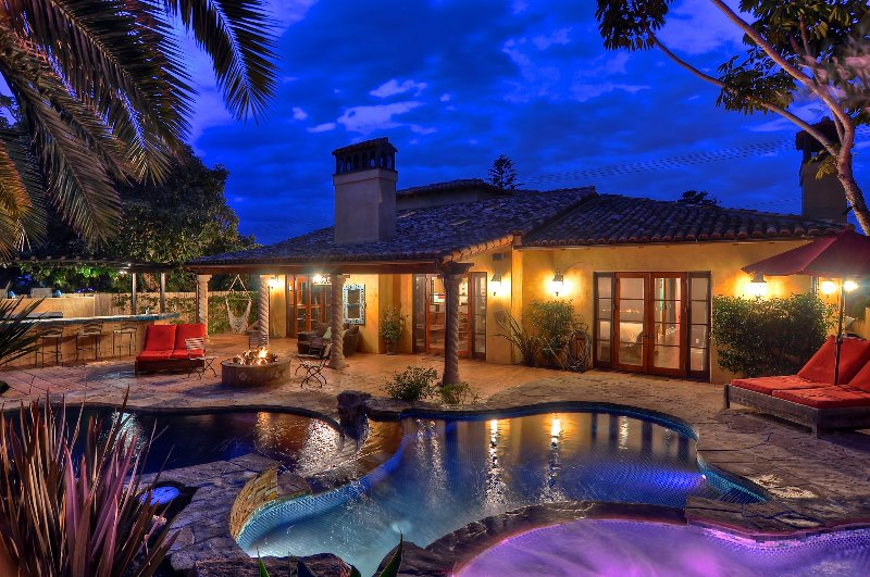 Incredible 4 Bedroom Resort, just minutes from the beach! - October special $350/night! Dream home with pool, kiddie pool, water slide, game room, and more! - Carlsbad - rentals