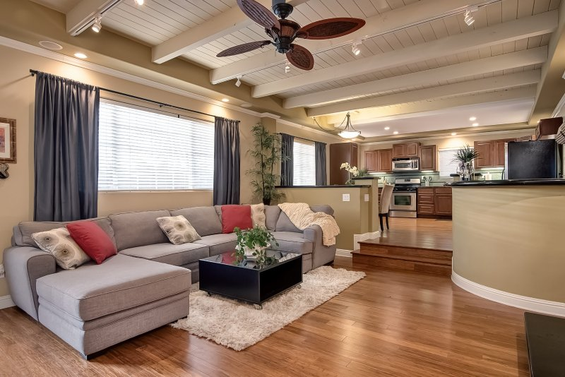 Rest and relax in this comfortable living room. - February Special $169/Night! Coastal Zen Styled Home, Steps to Beach Access, w/Private Patio & Hot Tub! - San Clemente - rentals