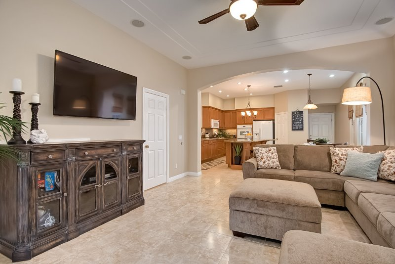 Board games and an HD TV with Blu-ray player will provide endless hours of vacation fun. - March-April Special $299/night! Spacious house, Just Blocks to Beach, Pier, & More! - Oceanside - rentals