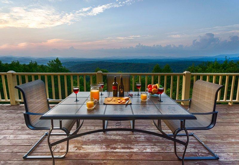 Long range mountain views at Cloud Lodge - The Cloud Lodge - Blue Ridge - rentals