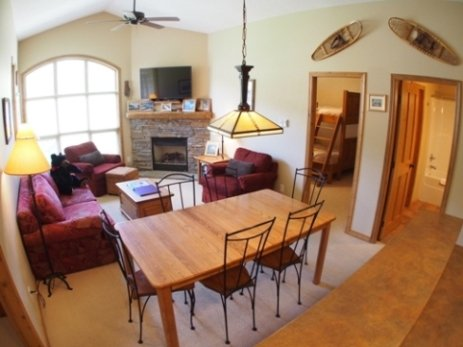 Dining Living - Crystal Forest Condos - 54 - Sun Peaks - rentals