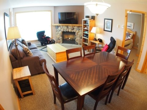 Living Dining - Crystal Forest Condos - 31 - Sun Peaks - rentals