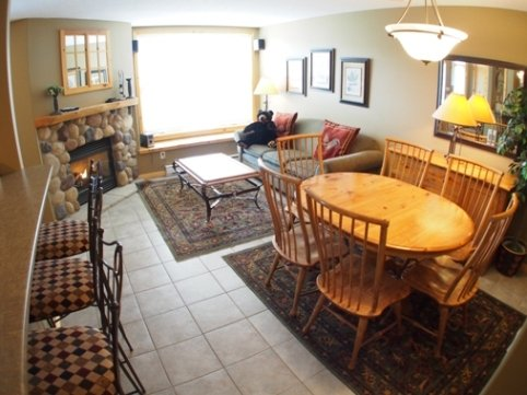 Dining Living - Crystal Forest Condos - 40 - Sun Peaks - rentals