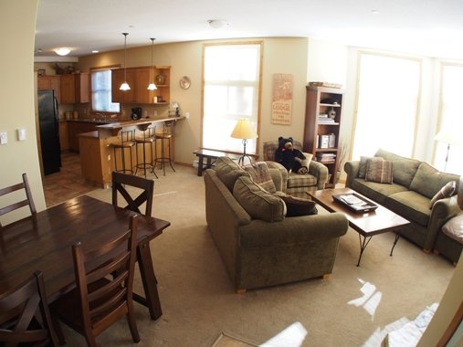Living Dining Kitchen - Crystal Forest Condos - 60 - Sun Peaks - rentals