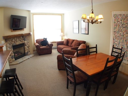 Dining Living - Crystal Forest Condos - 57 - Sun Peaks - rentals