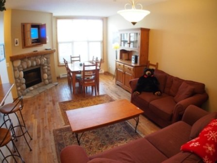 Living Dining - Crystal Forest Condos - 69 - Sun Peaks - rentals