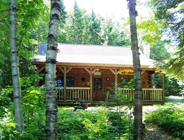 Log Cabin on Lower Wilson Pond - #105 A private `North Woods` log cabin - Greenville - rentals