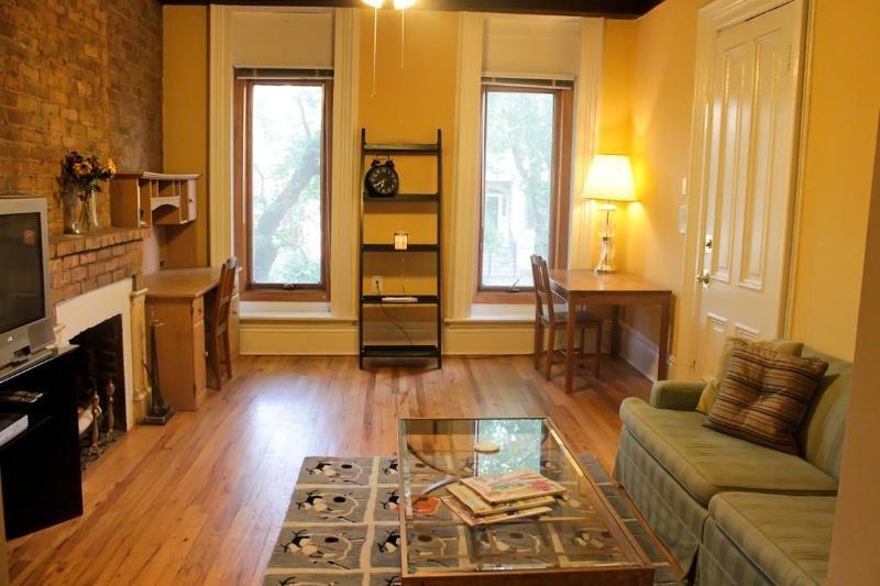 Bedroom Plus Bonus Room  Block from L - Image 1 - Chicago - rentals