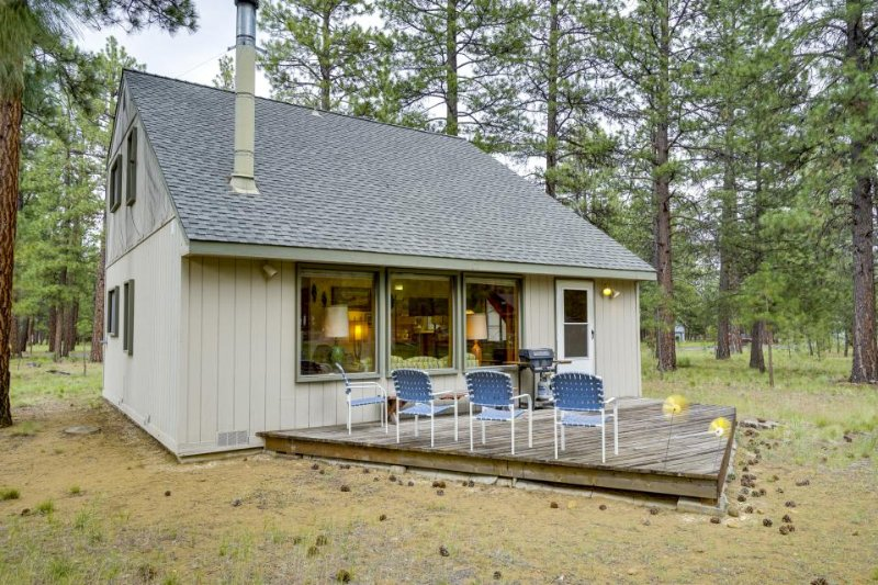 Cozy cabin w/ shared pool, tennis courts, near town & wilderness - Image 1 - Sisters - rentals