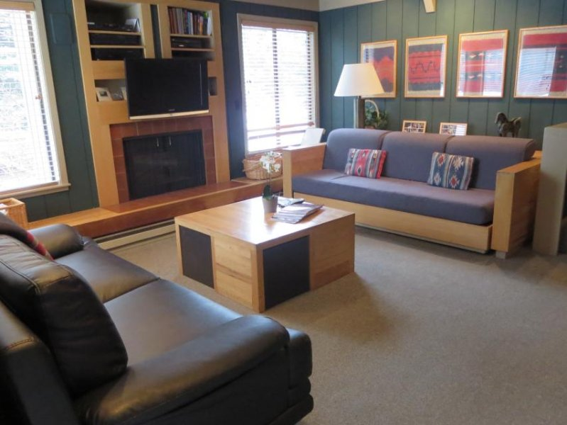 Mountain condo w/large deck & resort amenities including shared pool & hot tub - Image 1 - Sun Valley - rentals