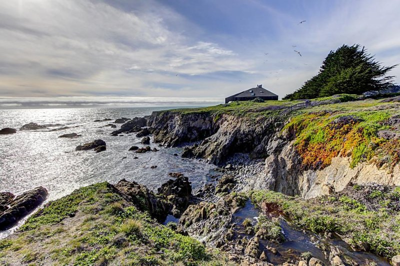 Award-winning ocean bluff retreat - amazing views for miles! - Image 1 - Sea Ranch - rentals