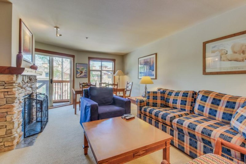 Ski-in/out condo w/mountain views, shared hot tub & pool & Club Solitude access! - Image 1 - Solitude - rentals
