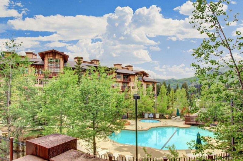 Ski-in/out condo w/Club Solitude access w/pool, hot tub, fitness, & more! - Image 1 - Solitude - rentals