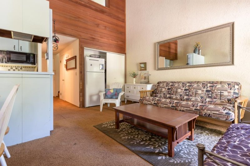 Cute condo with a balcony, easy lake access, and a shared pool, hot tub & sauna! - Image 1 - Tahoe Vista - rentals