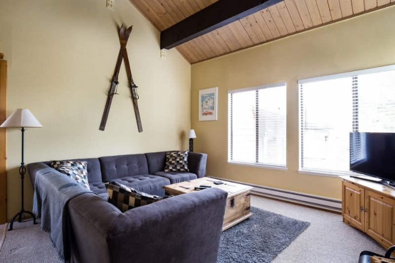 Dog-friendly mountain condo w/ shared pool, hot tub, & more - walk to ski lifts! - Image 1 - Truckee - rentals
