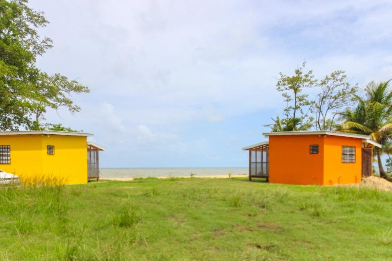 Charming oceanfront cabana w/ private beach, amazing views, & hammock! - Image 1 - Dangriga - rentals