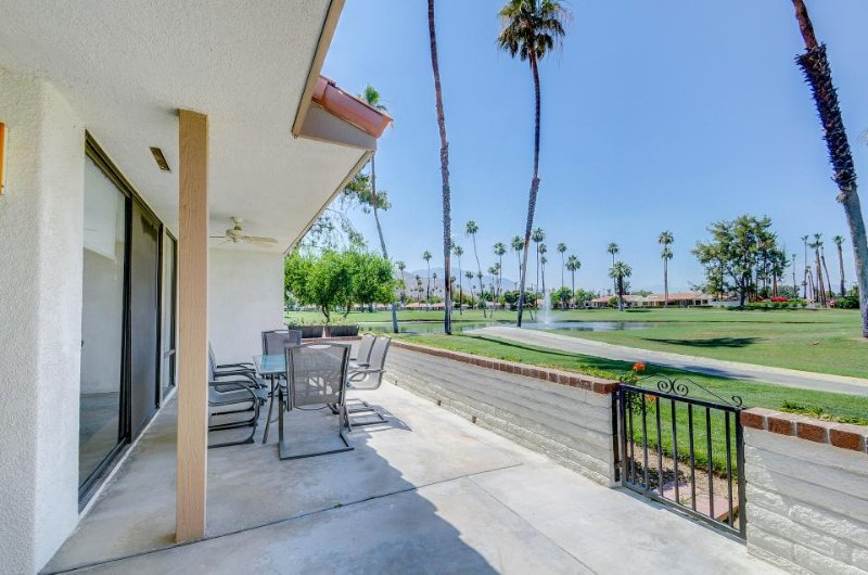 Golf courses, pools, hot tubs, & tennis courts abound near this stunning home - Image 1 - Rancho Mirage - rentals