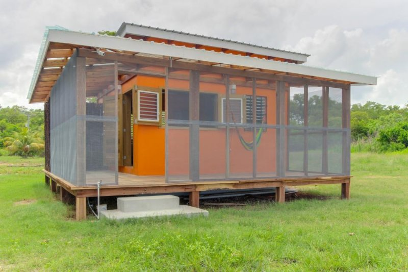 Secluded seaside cabana with beach access, a porch & hammock! - Image 1 - Dangriga - rentals