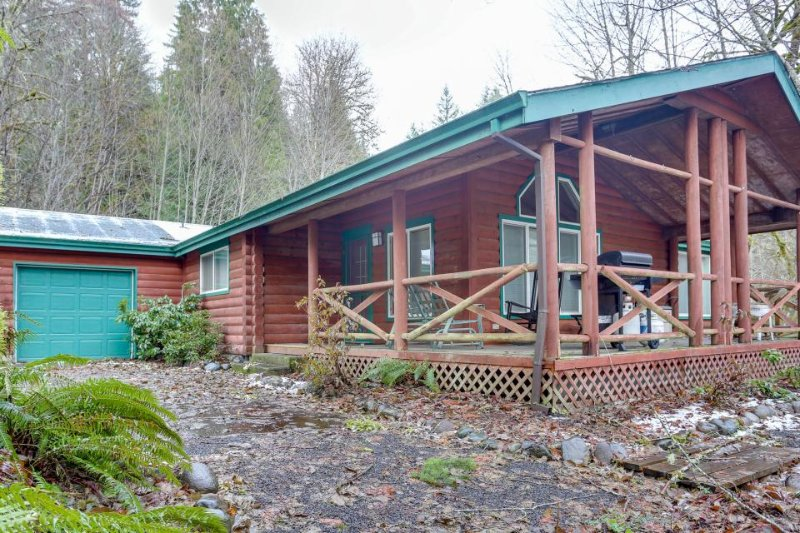 Retreat on four acres, outdoor firepit! - Image 1 - Rhododendron - rentals