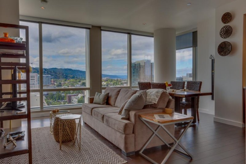 Modern, dog-friendly retreat in the heart of downtown Portland! - Image 1 - Gresham - rentals