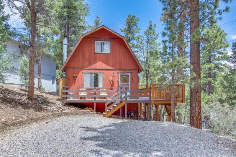 Cozy and secluded mountain cabin surrounded by pines - dogs welcome! - Image 1 - Big Bear City - rentals
