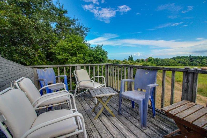 Quiet home with beach & dock access, peek-a-boo ocean views! - Image 1 - Chilmark - rentals