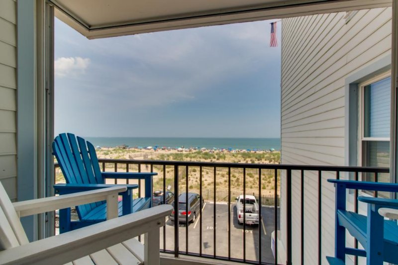Oceanfront condo with gorgeous ocean views, easy beach access - Image 1 - Ocean City - rentals