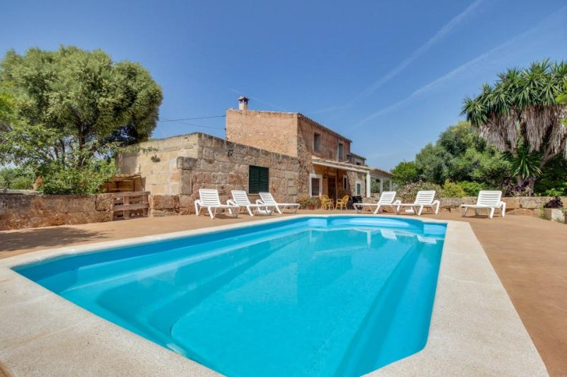 Mountain view country home with a private pool and terrace! - Image 1 - Algaida - rentals