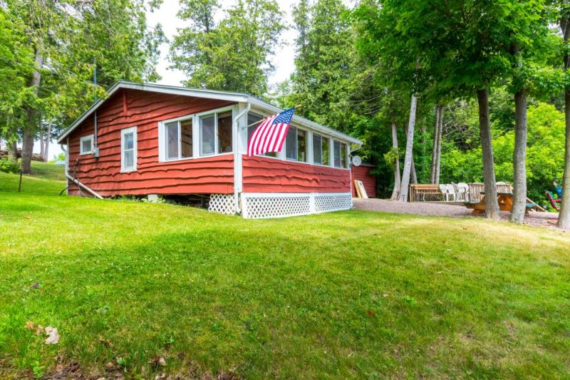 Lakefront, outdoor lover's delight w/private dock & firepit - Image 1 - Grand Isle - rentals