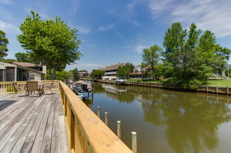 Family-friendly waterfront geodesic dome w/ dock on the canal & private deck! - Image 1 - Ocean City - rentals