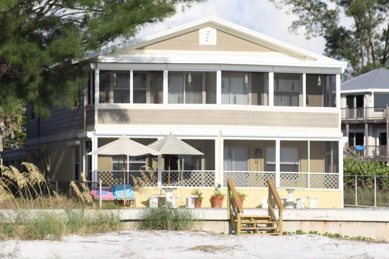 Gulf Front View - The Perfect Gulf Front Vacation - Anna Maria - rentals