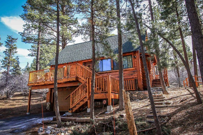 1494-Living Log Cabin - 1494-Living Log Cabin - Big Bear City - rentals
