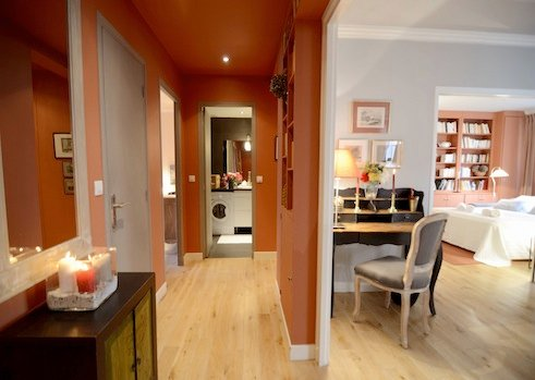 Foyer entrance - Vacation 1 Bedroom Apartment in the Heart of Paris - Paris - rentals