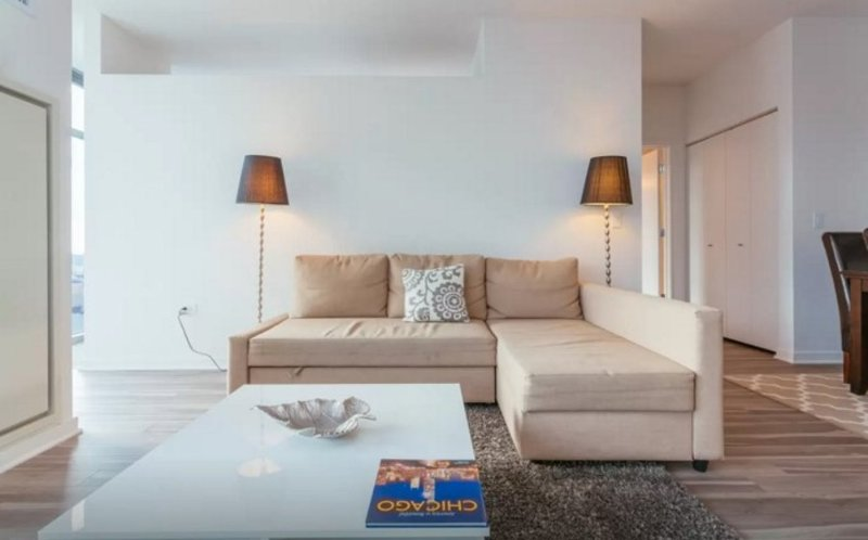 BRILLIANTLY FURNISHED 1 BEDROOM APARTMENT IN CHICAGO WITH VIEWS - Image 1 - Chicago - rentals