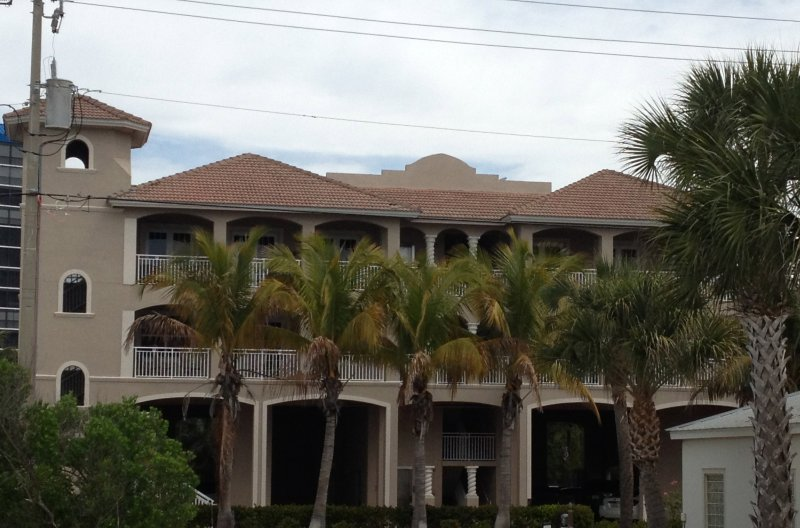 Front of building - One of the Newest Condos on Fort Myers Beach - Fort Myers Beach - rentals