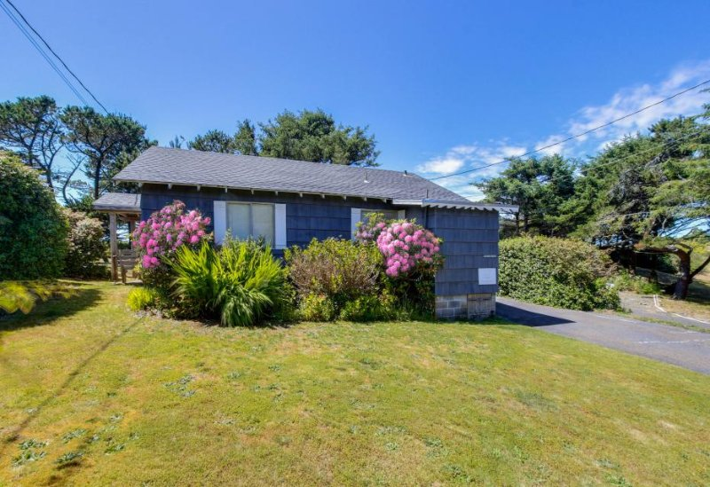 Charming, dog-friendly cabin, steps from the beach & two blocks from golf! - Image 1 - Neskowin - rentals