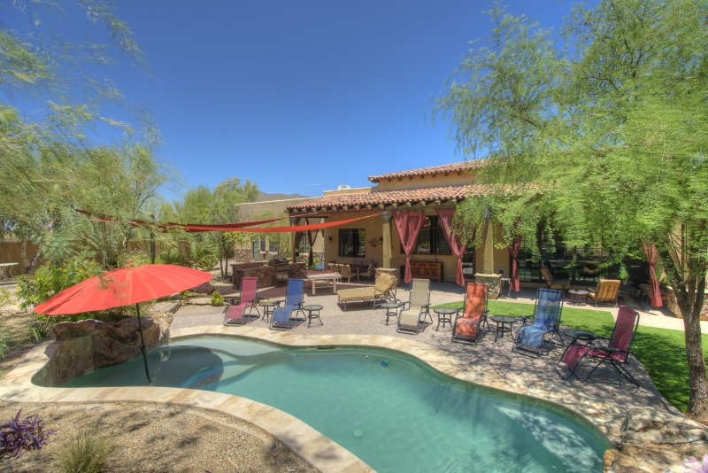 Spectacular Estate with Pool, Bar, Theatre, & GOLF - Image 1 - Scottsdale - rentals